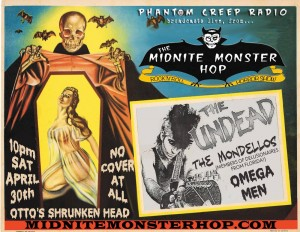 APRIL 30 OTTOS SHRUNKEN HEAD NYC